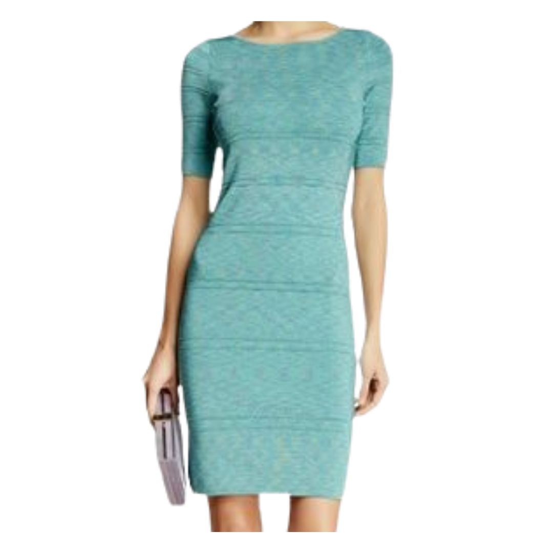 "Rolo & Ale ""Audree"" Short Sleeve Knit Dress Women's Small"