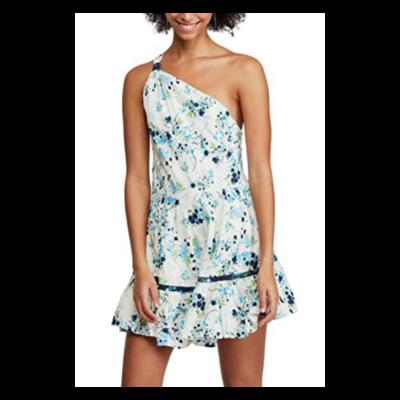 Free People Mini One Shoulder Dress Women's Medium