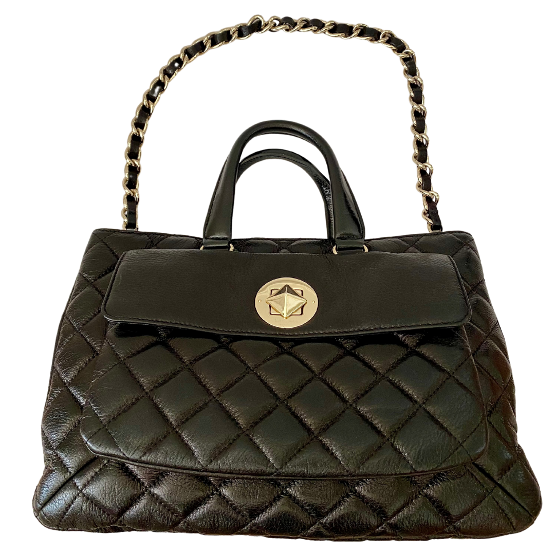 Kate Spade New York Quilted 3 Compartment Handbag