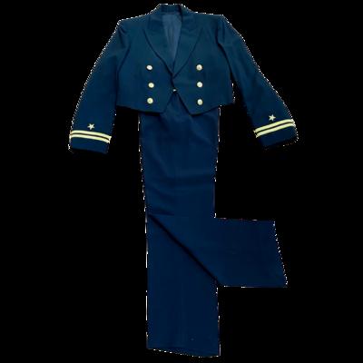 Vintage Naval Officer Dress Blue Uniform Naval Uniform Shop Jacket & Davis Clothing Co Pants
