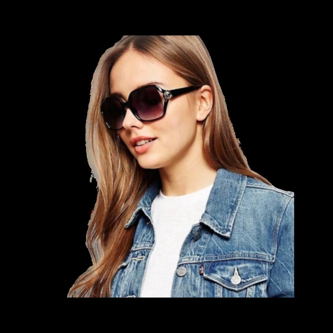 Michael Kors Tortoise Pippa Sunglasses & Case