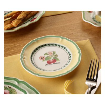 Villeroy & Boch 1748 French Garden Valence Country Collection Set of 6 Small Plates Made in Germany