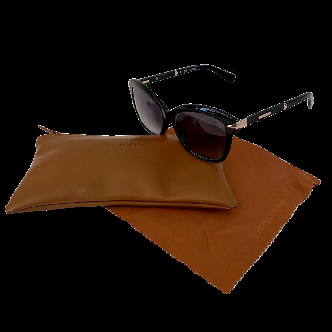 TRUSSARDI Italian Made Sunglasses & Case
