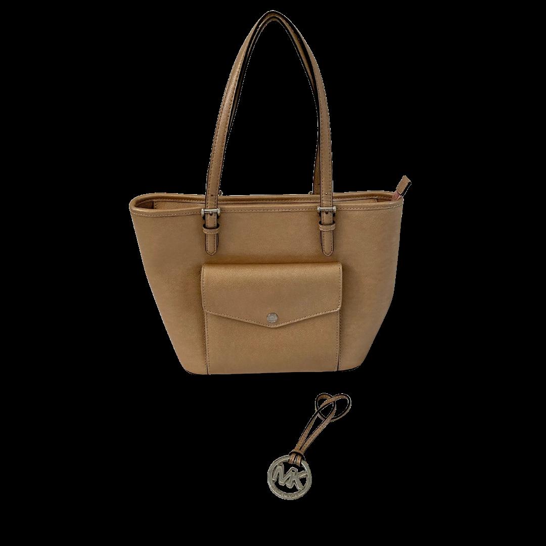 Michael Kors Champagne Handbag