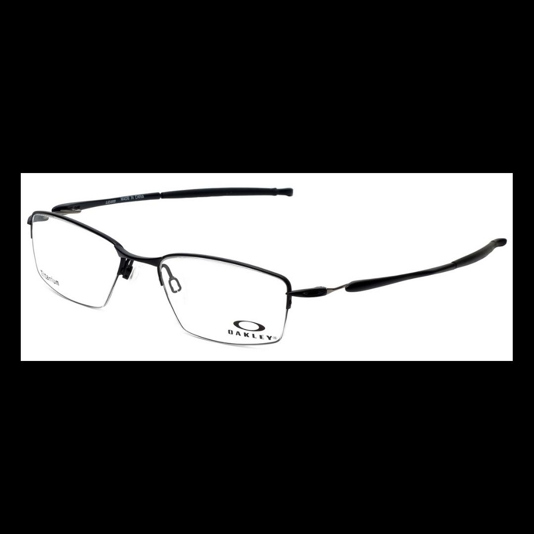 Oakley Eyeglasses Satin Black Lizard OX5113-0156 Case Included