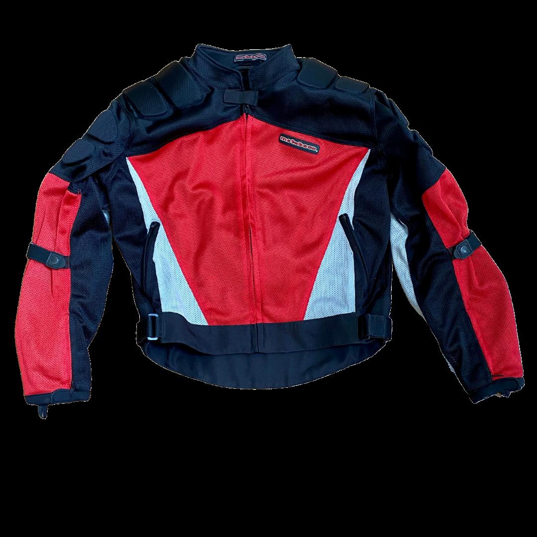 MOTOBOSS Motorcycle Riding Padded Jacket Men's XL