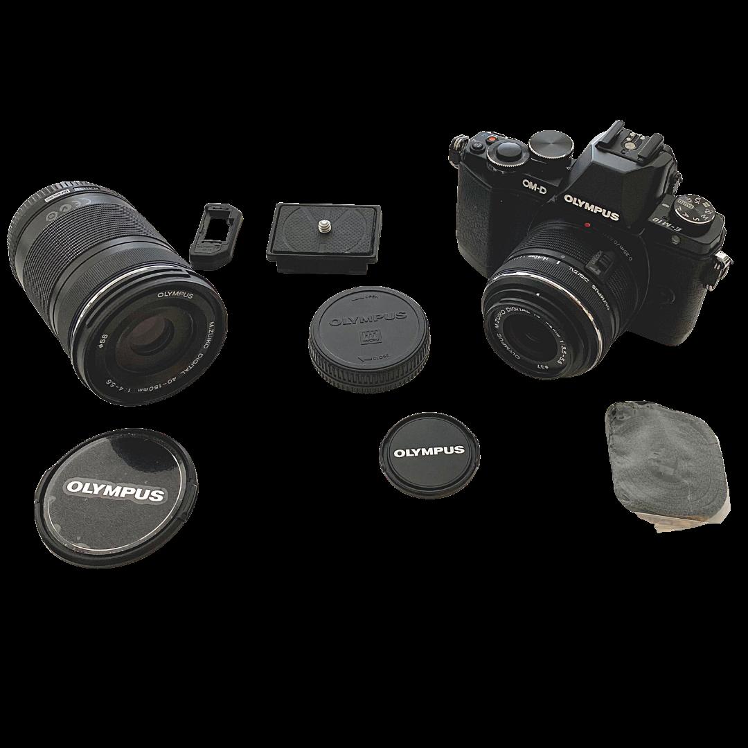 OLYMPUS OM-D EM-10 Digital Camera & Accessories