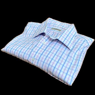 """Burberry London 100% Cotton Shirt Men's 17.5""""L"""