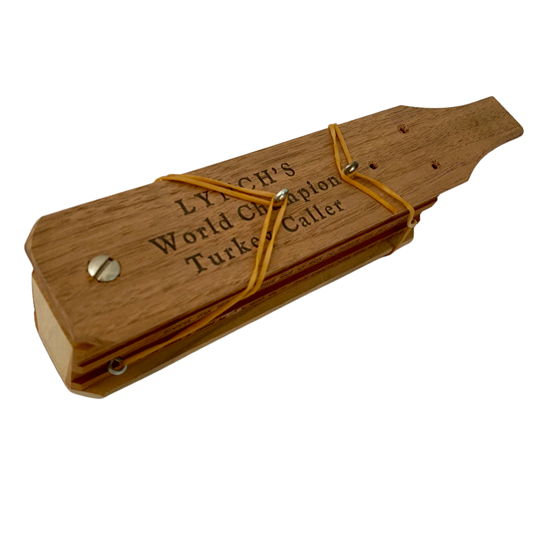 LYNCH'S World Championship Vintage Turkey Caller