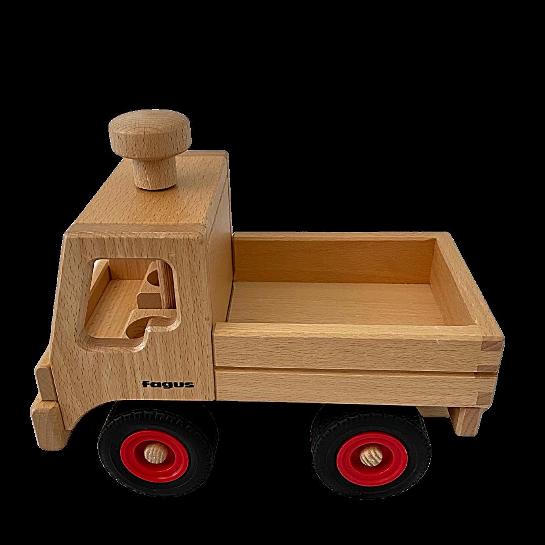 Fagus Unimog Beechwood German Made Toy Truck