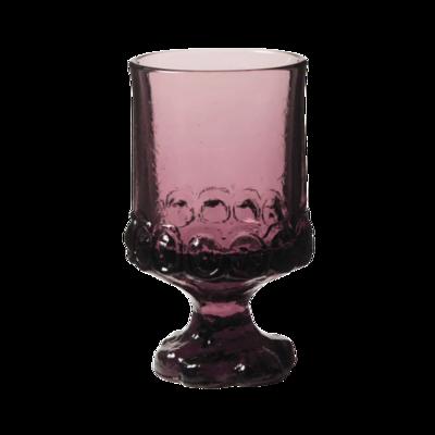 Tiffin Madeira Vintage Plum By Franciscan Stemmed Juice/Wine Glassware Set of 6