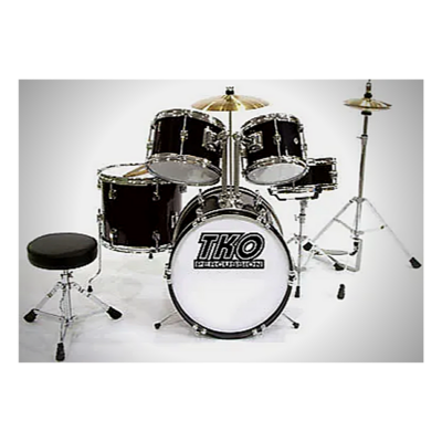 TKO Percussion Youth 4-Piece Drum Set