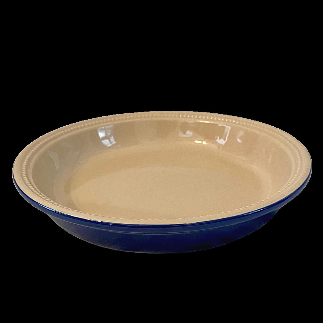LE CREUSET Stoneware 11-12 Round Deep Pie Baking Dish