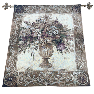 Pure Country Weavers Floral Wall Tapestry
