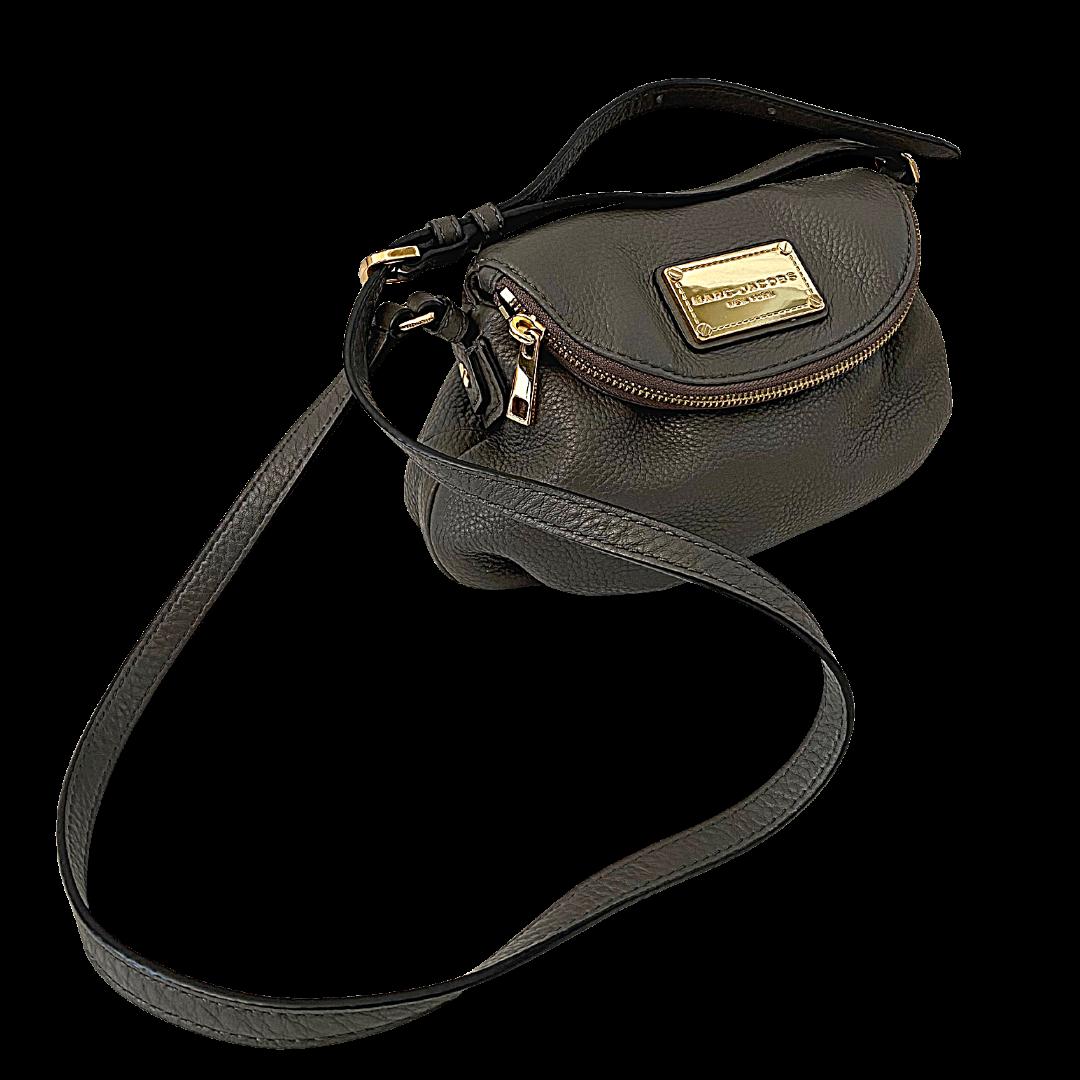 Marc Jacobs New York Hidden Zipper Flap Crossbody Purse