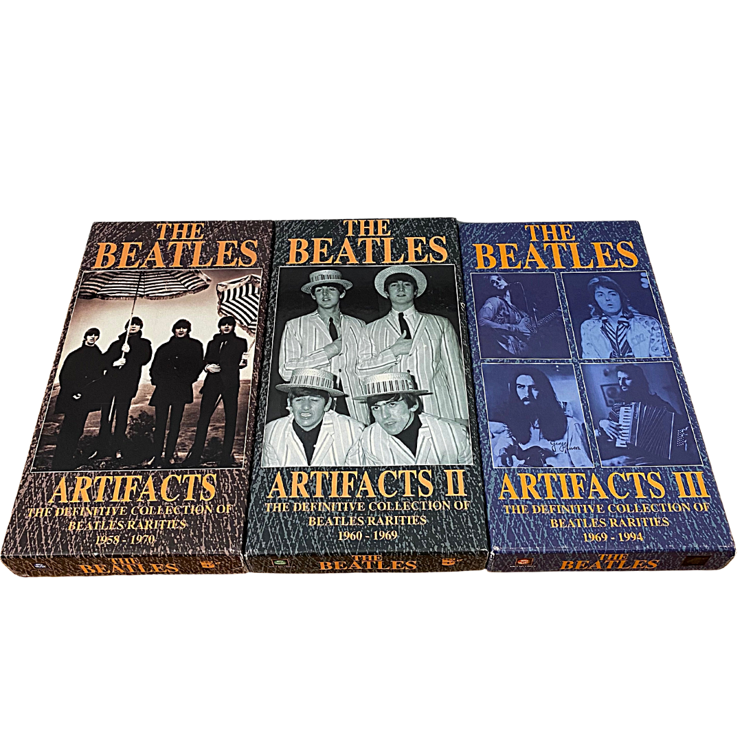 The Beatles Artifacts Collection Three Separate Boxed Sets of Cd's & Booklets