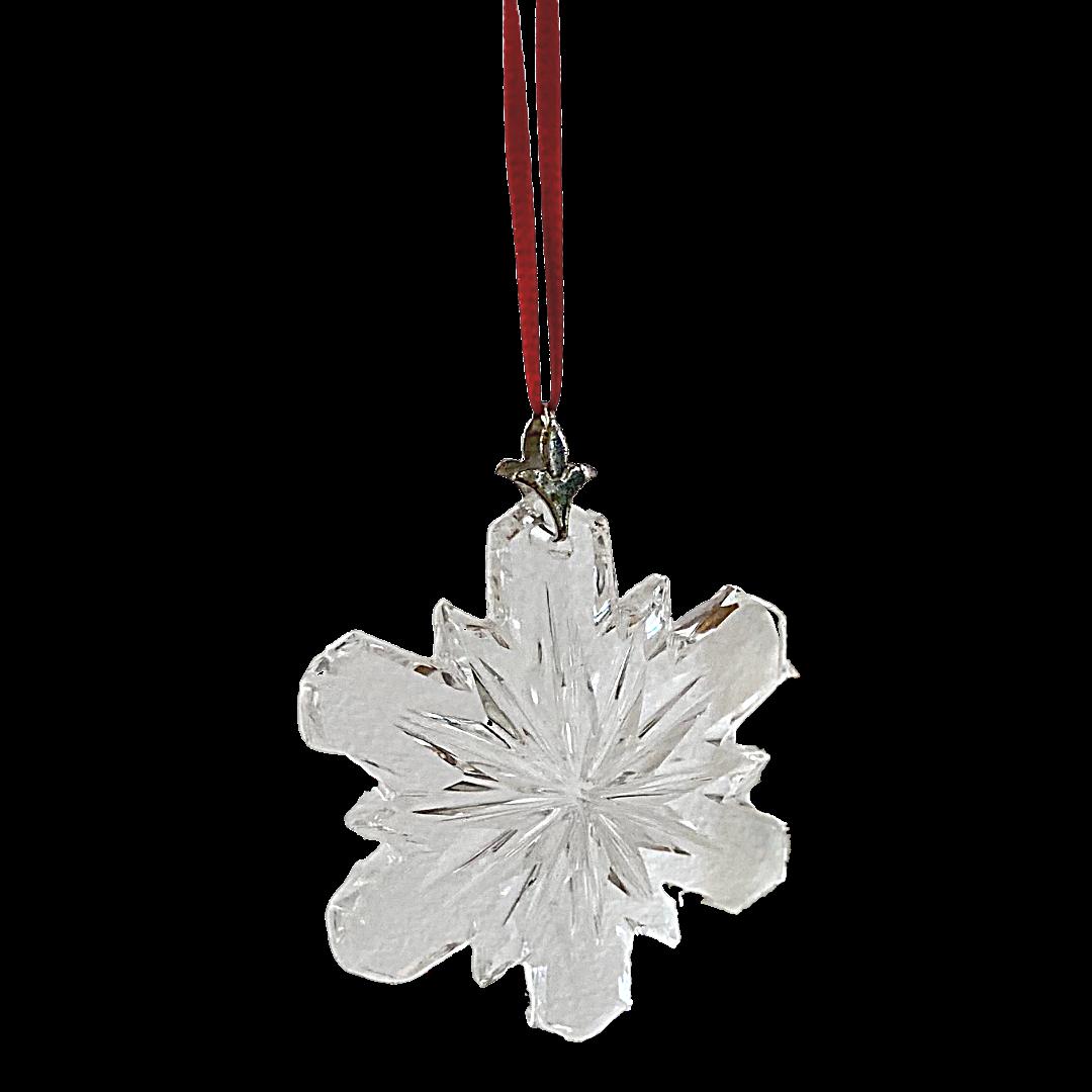 Swarovski The Giftware Suite Snowflake Crystal Ornament
