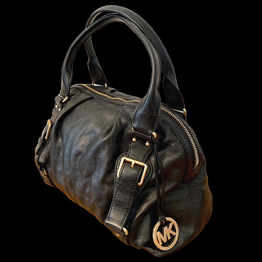 Michael Kors Handbag with Gold Accents