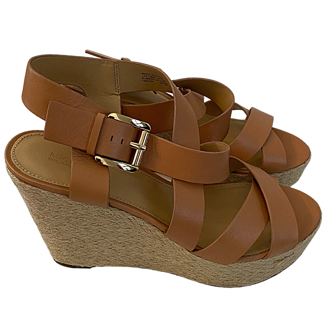 Michael Kors Celia Wedge Shoe Women's 10