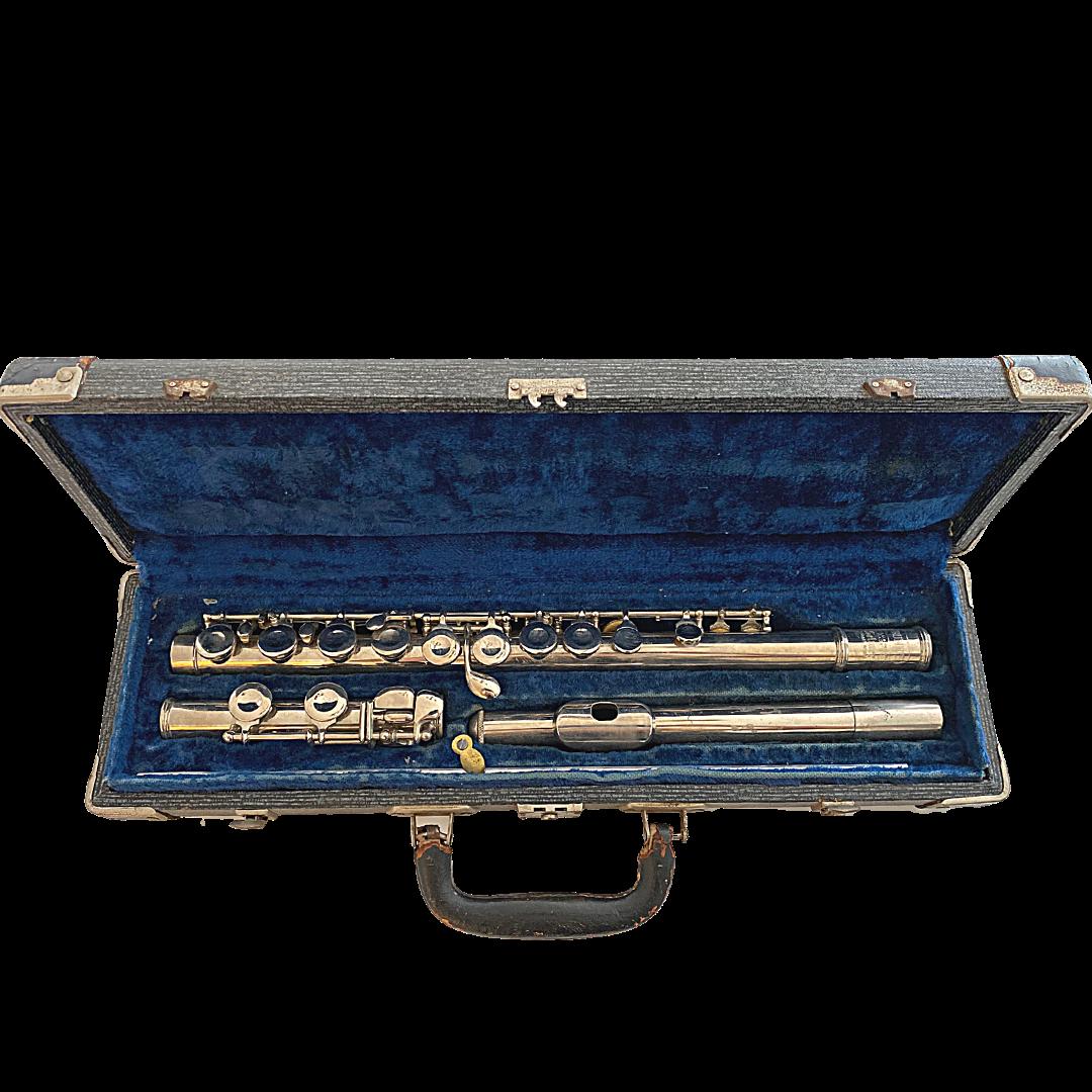 Bundy Selmer 1950's Vintage Flute in Hard Case