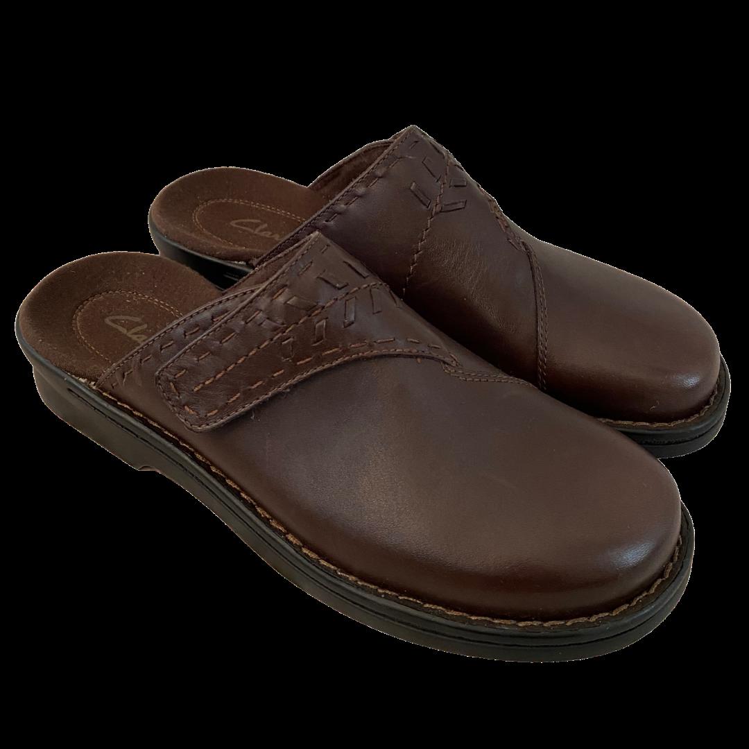 Clarks® Brown Patty Morroco Shoe Women's 9