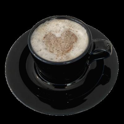 DANSK Bistro Espresso Black Cups & Saucers Set of 6
