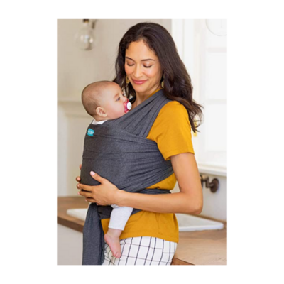 MOBY Evolution Grey Baby Wrap Carrier
