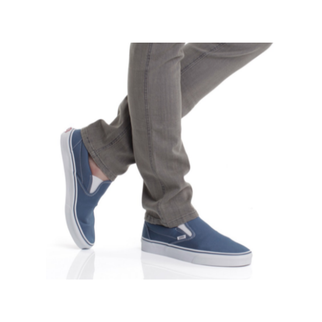 VANS Classic Slip-On Canvas Shoe Style #VNOOOEYENVY Men's 7.5 - Women's 9