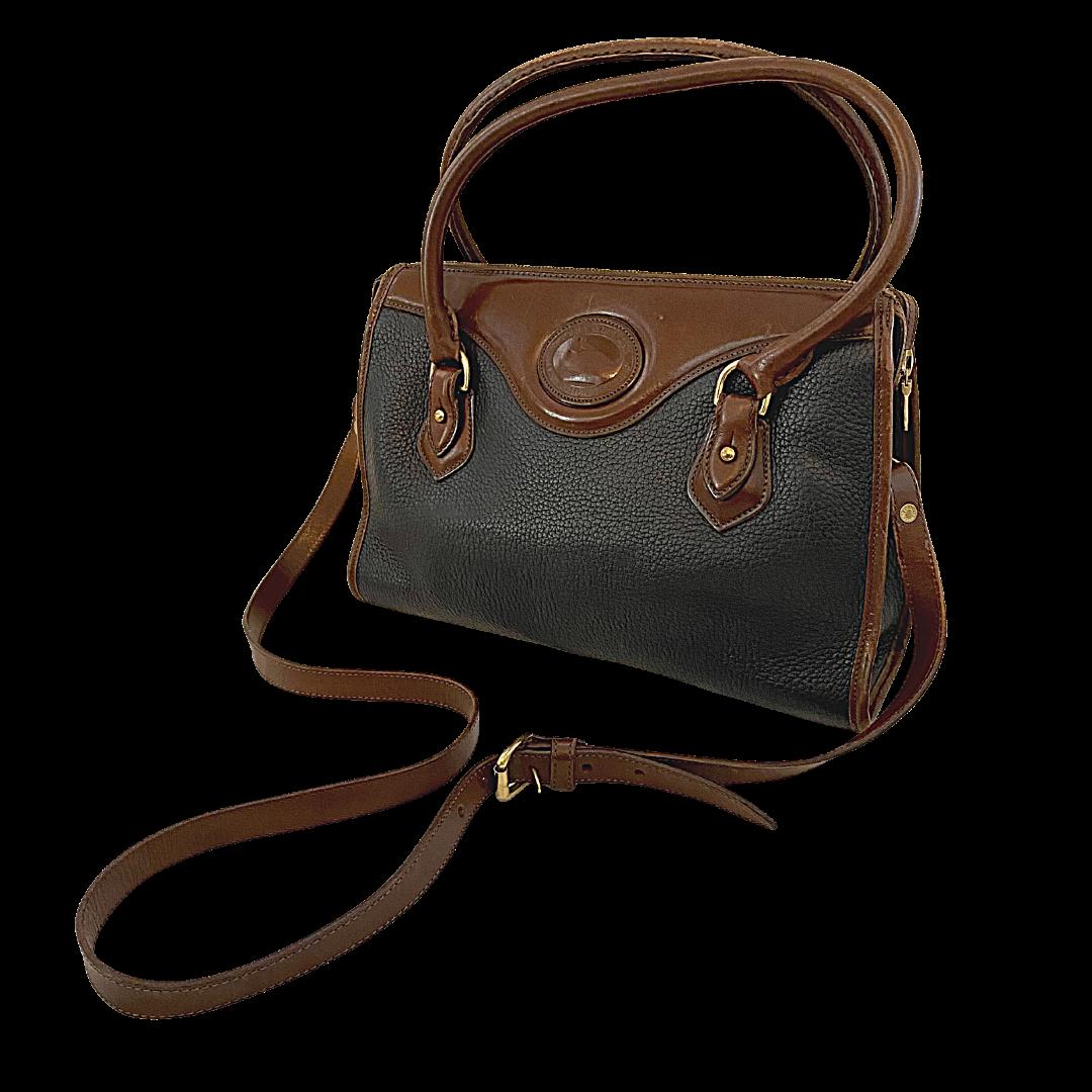Dooney & Bourke Vintage Pebble Grain Handbag & Crossbody Strap
