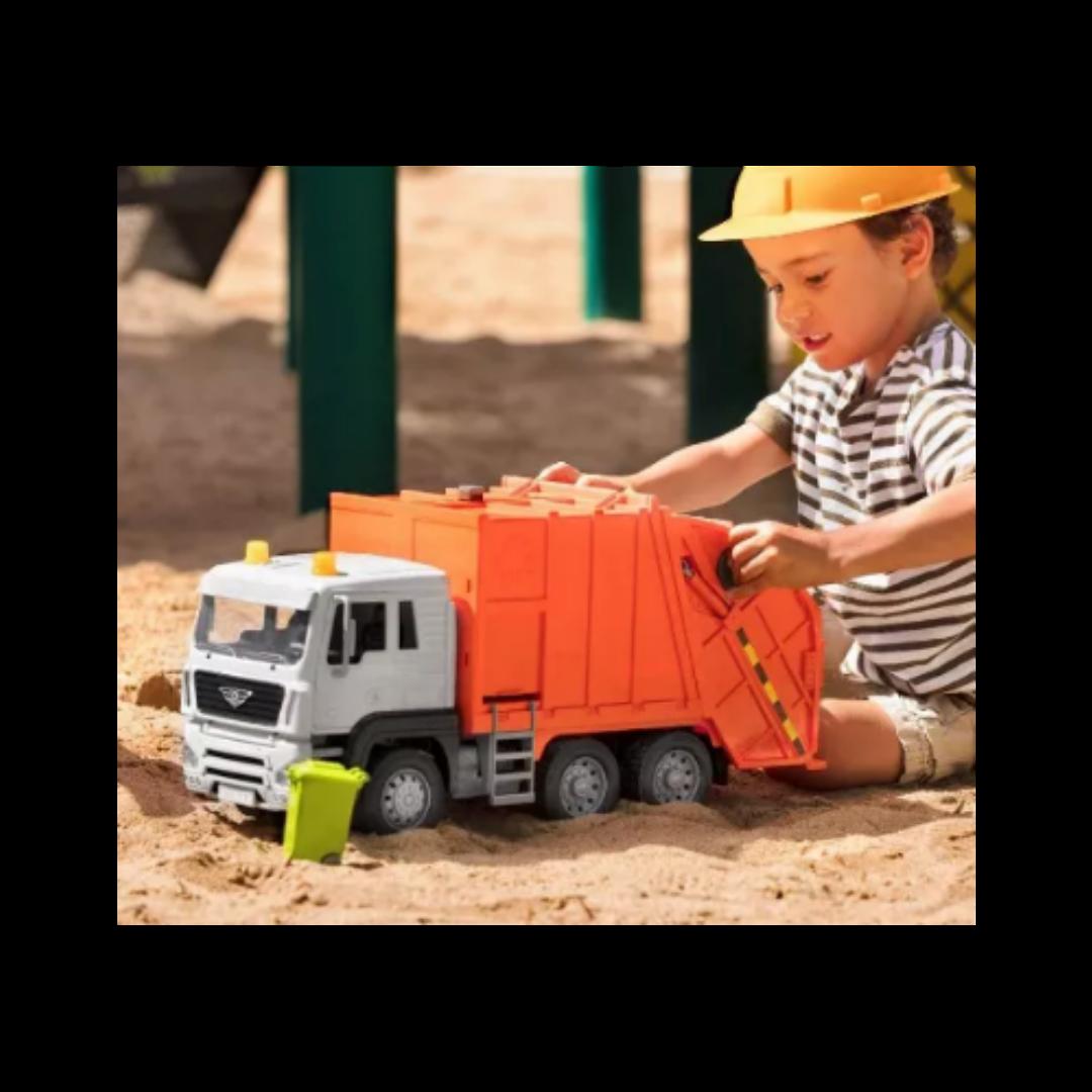 DRIVEN By Battat Standard Orange Recycling Toy Truck