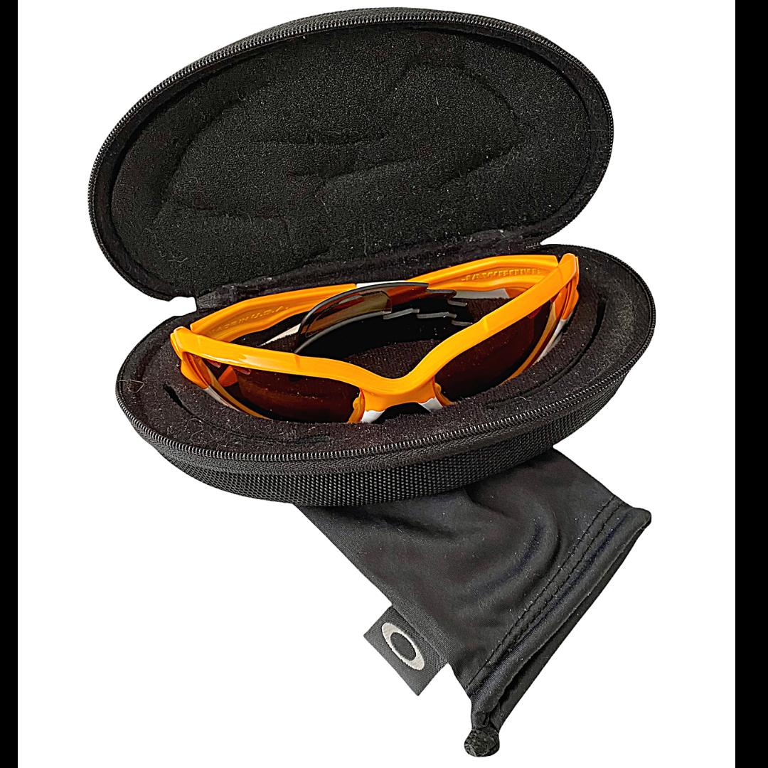 OAKLEY Jawbone Orange Sunglasses & Case