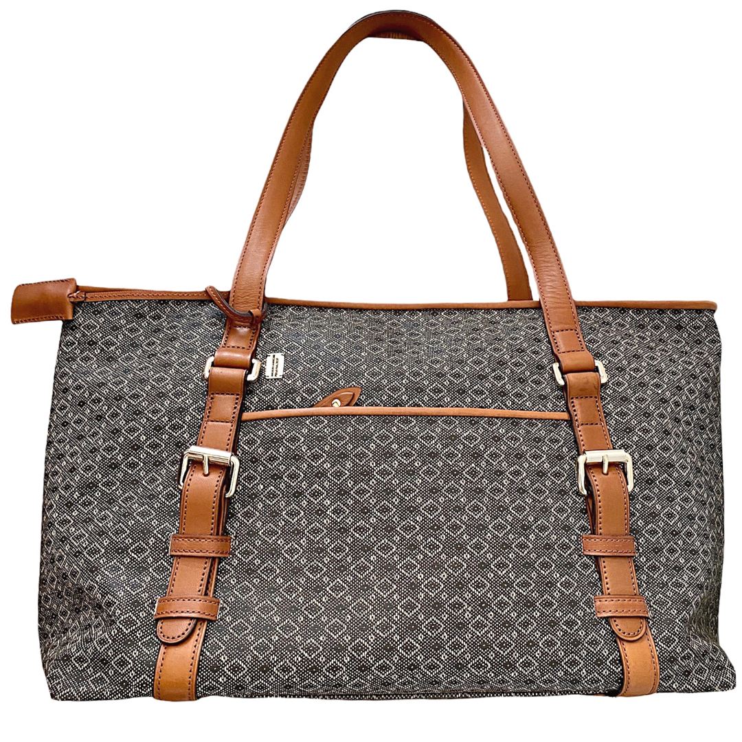 Hartmann Wings Collection Diamond Jacquard Travel Tote