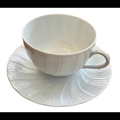 Limoges France Palm By Bernardaud 5 Piece Cup & Saucer Set
