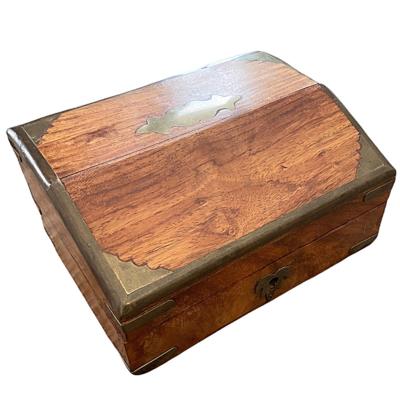 John Richard Wood & Brass Storage Box