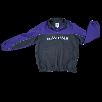 Official NFL Baltimore Ravens Pullover Jacket Men's Large