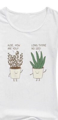 Aloe & Thyme Tank