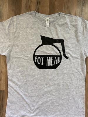 Coffee Pot Head T Shirt