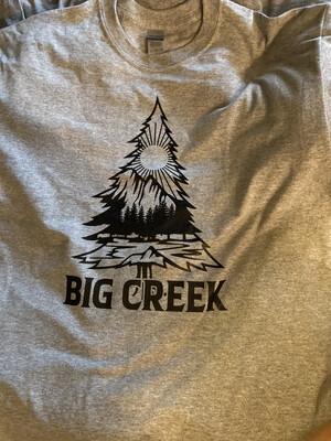 Unisex LARGE Creek Fire Relief T Shirt