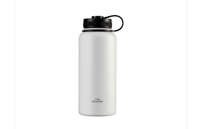 WHITE 32oz Pure Outdoor Vacuum Seal Water bottle