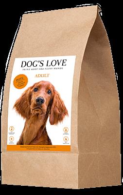 DOG'S LOVE DINDE CROQUETTE CHIEN 2kg