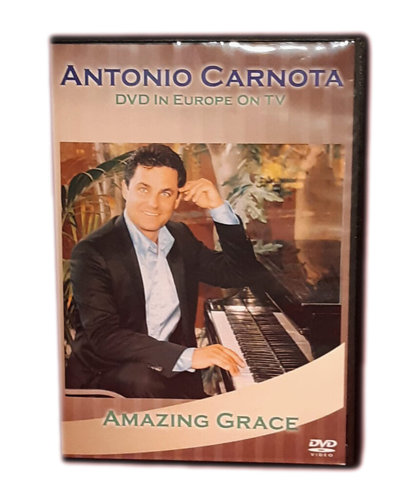 AMAZING GRACE DVD in Europe
