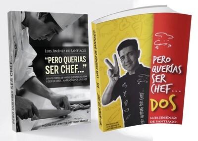 Libros 1 Y 2 Pero Querías Ser Chef Con Dedicatoria