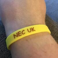 NEC UK Wrist Band