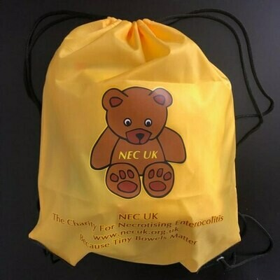 NEC UK Bear Drawstring Bag