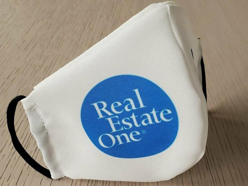 Real Estate One Face Mask - 25 Piece Minimum