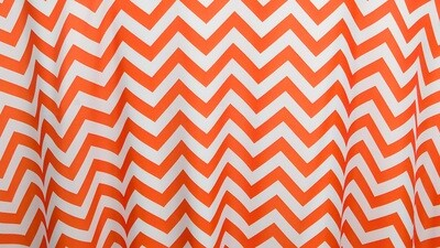 Orange Chevron 12