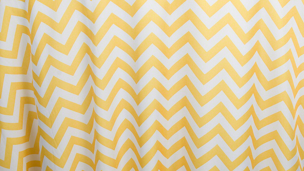 Lemon Chevron 12