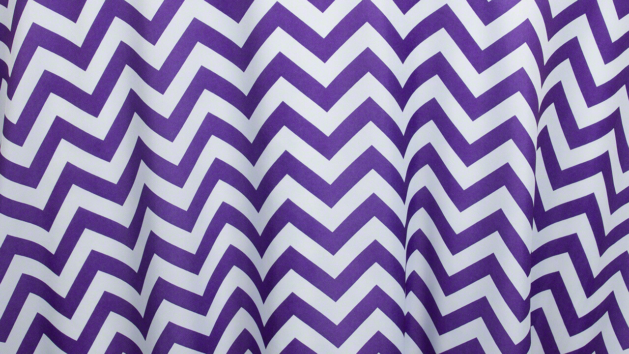 Purple Chevron 12
