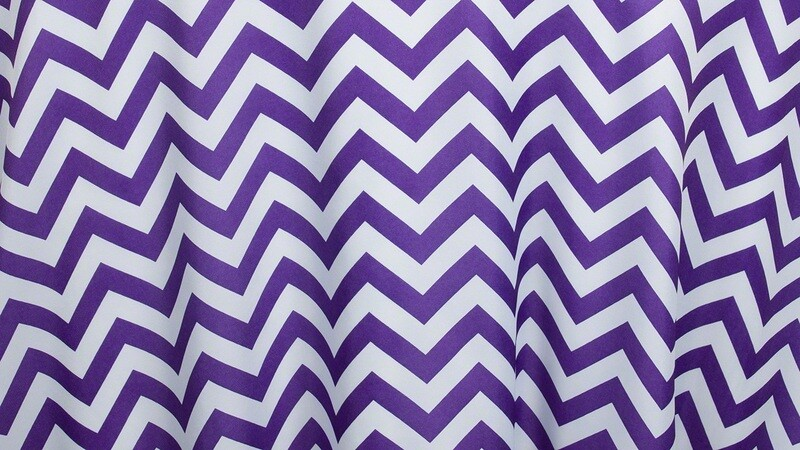 Purple Chevron 12
