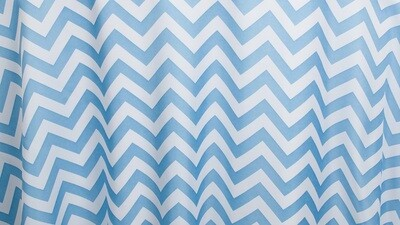 Powder Blue Chevron 12